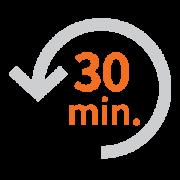 Tägliche Zeitersparnis von durchschnittlich 30 Minuten pro Pflegekraft